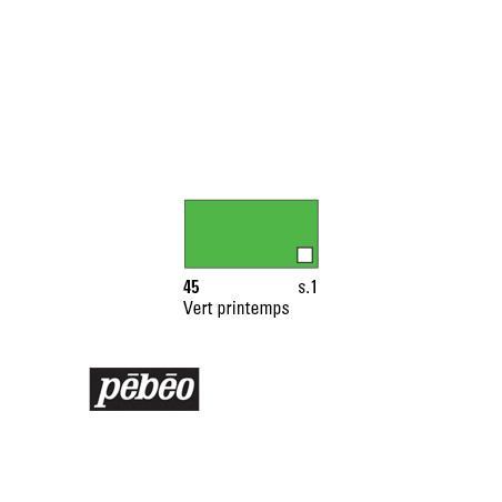 PEBEO COLOREX 45ML 45 VERT PRINTEMPS