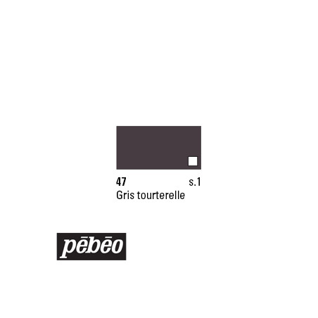PEBEO COLOREX 45ML 47 GRIS TOURTERELLE
