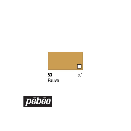 PEBEO COLOREX 45ML 53 FAUVE