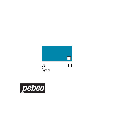 PEBEO COLOREX 45ML 58 CYAN