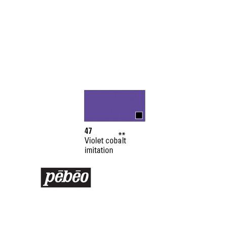 PEBEO GOUACHE STUDIO 100ML VIOLET COBALT /SERA SUP !