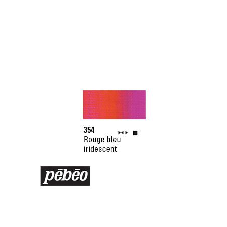 PEBEO GOUACHE STUDIO 100ML ROUGE BLEU IRIDE/SERA SUPP
