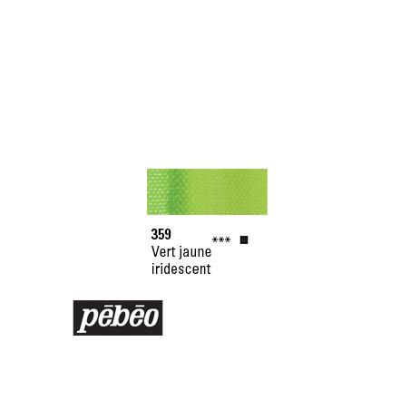 PEBEO GOUACHE STUDIO 100ML VERT JAUNE IRIDE /SERA SUPP
