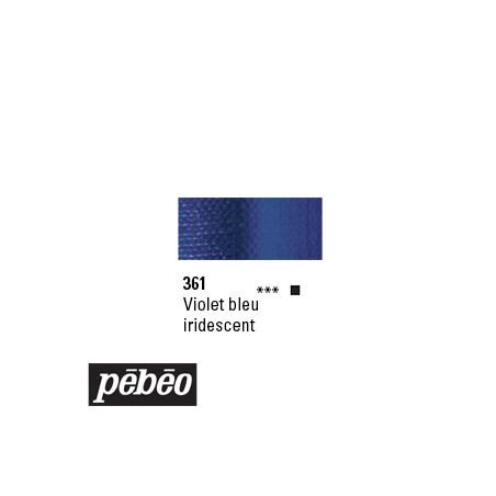 PEBEO GOUACHE STUDIO 100ML VIOLET BLEU IRIDE /SERA SUPP
