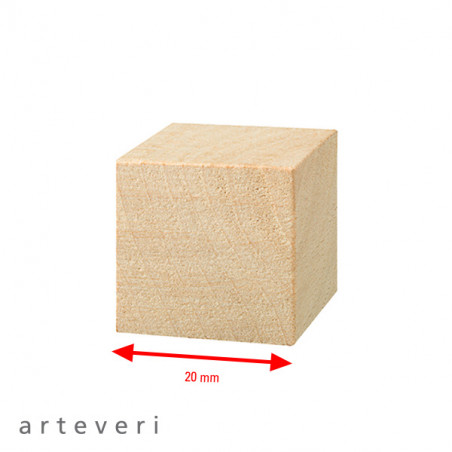 ARTEVERI CUBE 20X20X20MM 30 PIECES