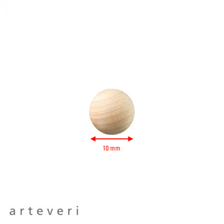 ARTEVERI SPHERE DIAMETRE 10MM 100 PIECES