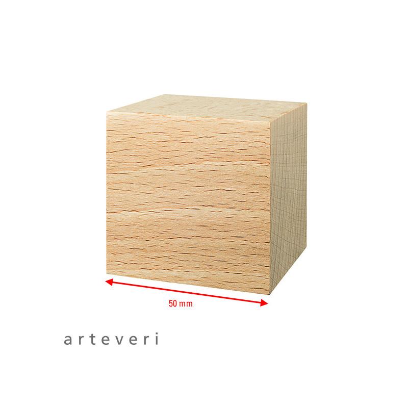 Figures géométriques en bois à décorer