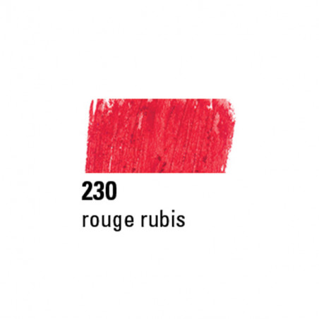 BOESNER PASTEL A L'HUILE 230 ROUGE RUBIS