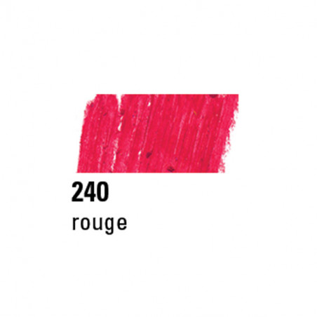 BOESNER PASTEL A L'HUILE 240 ROUGE RUBIS
