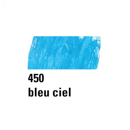 BOESNER PASTEL HUILE 450 BLEU CIEL