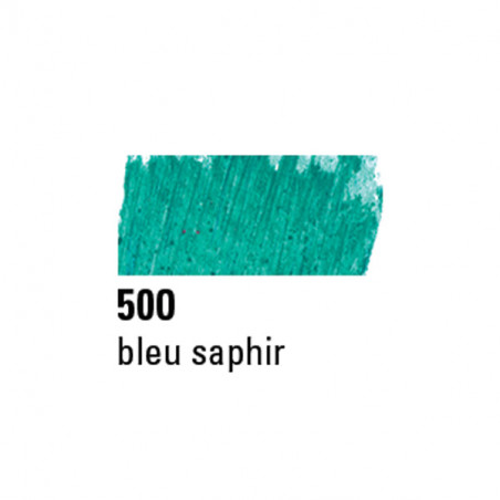 BOESNER PASTEL A L'HUILE 500 BLEU SAPHIRE