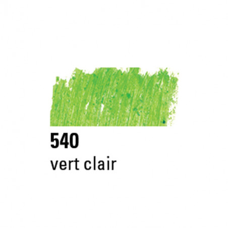 BOESNER PASTEL A L'HUILE 540 VERT CLAIR