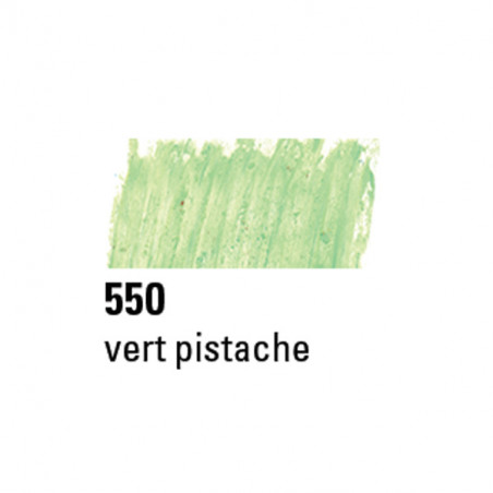 BOESNER PASTEL A L'HUILE 550 VERT PISTACHE