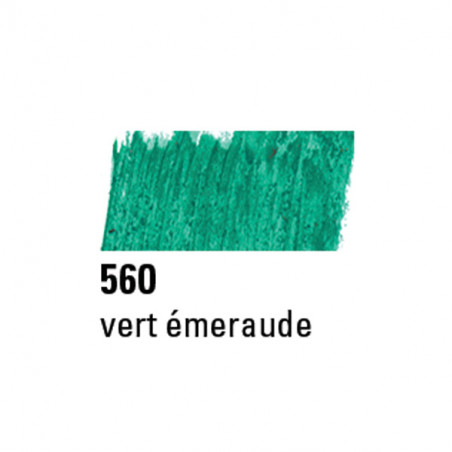 BOESNER PASTEL A L'HUILE 560 EMERAUDE