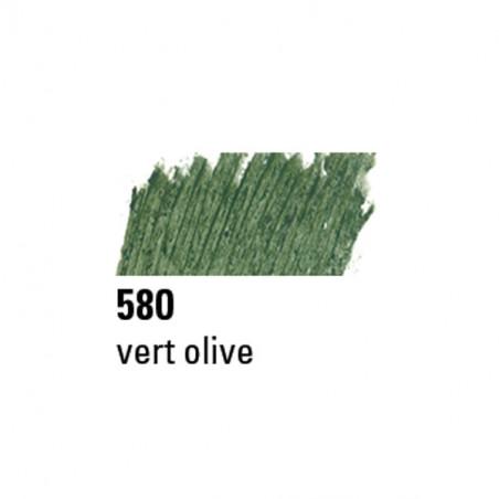 BOESNER PASTEL A L'HUILE 580 VERT OLIVE