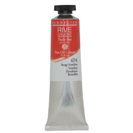 SENN HUILE FINE 40ML 674 RGE VERMILLON - RIVE GAUCHE