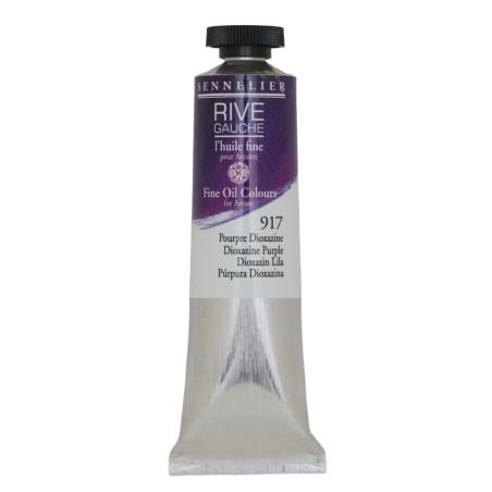 SENN HUILE FINE 40ML 917 POURPRE DIOXAZINE - RIVE GAUCHE