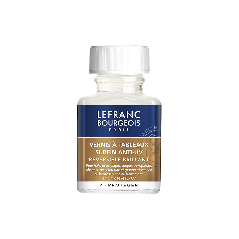 LEFRANC&BOURGEOIS VERNIS A TABLEAUX SURFIN 250ML