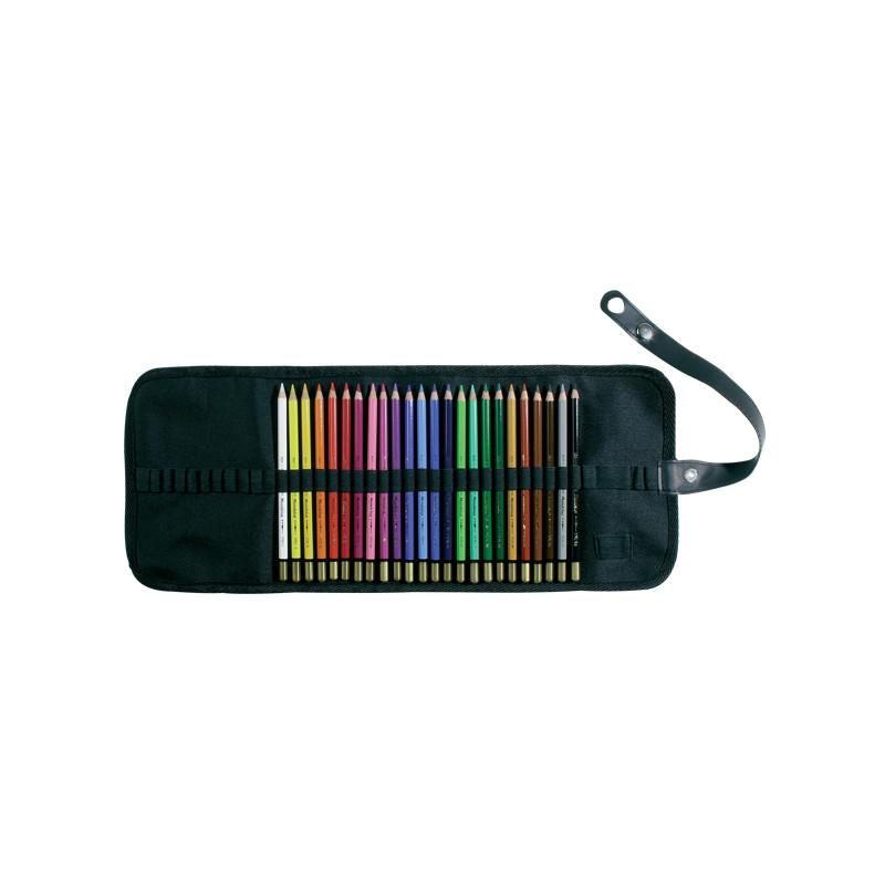 Trousse à enrouler pour 36 crayons