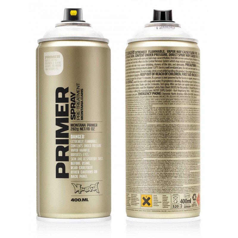MONTANA PRIMER SPRAY 400ML T2000 PASTIC PRIMER