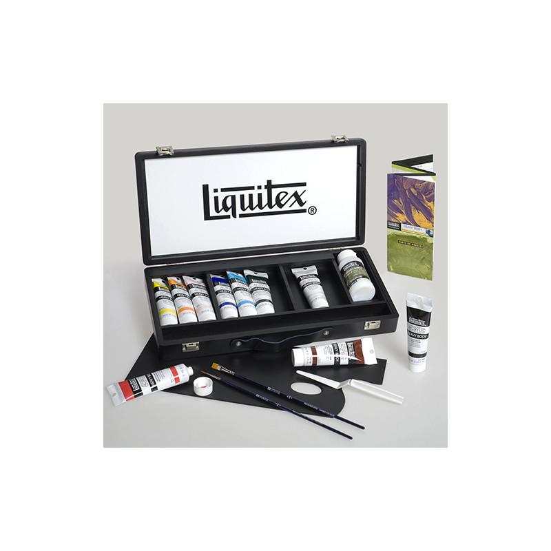 Coffret peinture acrylique Liquitex complet