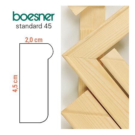 Baguettes à châssis Boesner Standard 45