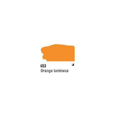 SYS3 ACRYL 150ML FLUORO ORANGE 653