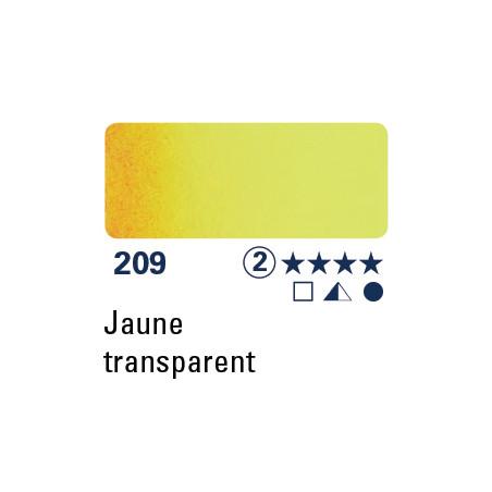 SCHMINCKE DEMI-GODET JAUNE TRANSPARENT S2