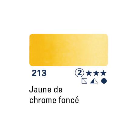 SCHMINCKE DEMI-GODET JAUNE DE CHROME FONCÉ S2