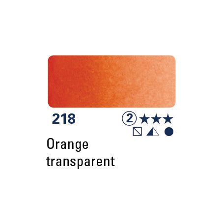 SCHMINCKE DEMI-GODET ORANGE TRANSPARENT S2
