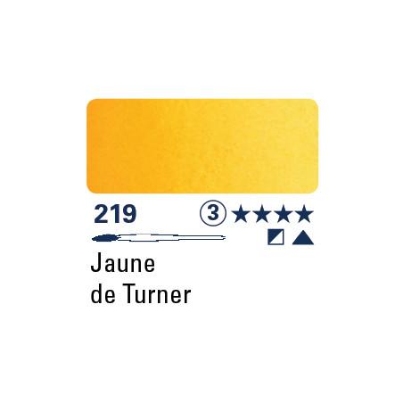 SCHMINCKE AQUARELLE HORADAM S3 219 1/2 GODET JAUNE TURNER