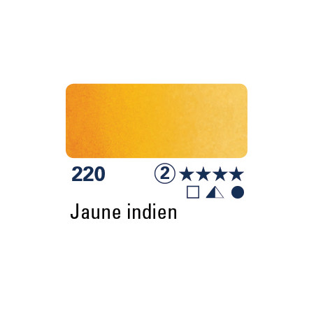 SCHMINCKE DEMI-GODET JAUNE INDIEN S2