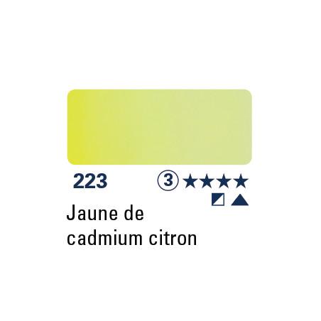 SCHMINCKE DEMI-GODET JAUNE DE CADMIUM CITRON S3