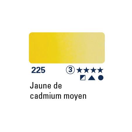 SCHMINCKE DEMI-GODET JAUNE DE CADMIUM MOYEN S3