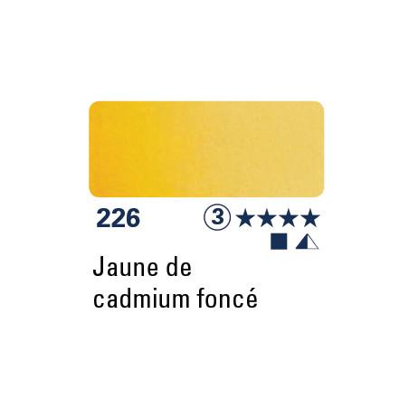 SCHMINCKE DEMI-GODET JAUNE DE CADMIUM FONCÉ S3