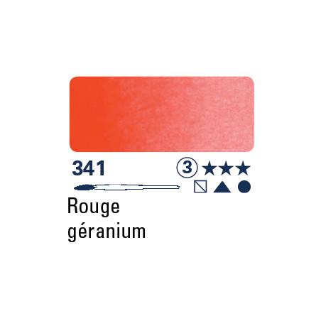 SCHMINCKE AQUARELLE HORADAM S3 341 1/2 GODET ROUGE DE GERANIUM