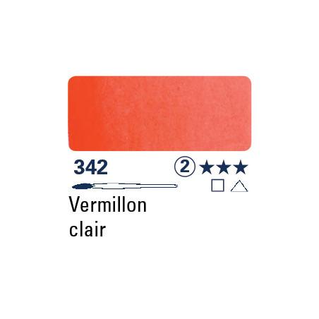 SCHMINCKE AQUARELLE HORADAM S2 342 1/2 GODET  VERMILLON CLAIR