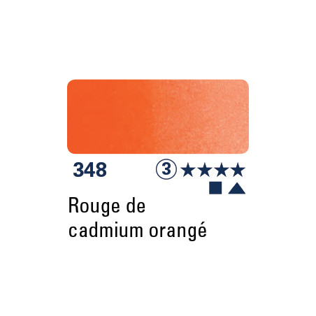 SCHMINCKE DEMI-GODET ROUGE DE CADMIUM ORANGE S3
