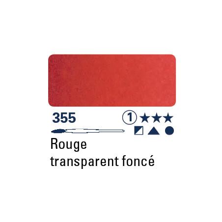 SCHMINCKE AQUARELLE HORADAM S1 355 1/2 GODET ROUGE FONCE TRANSPARENT