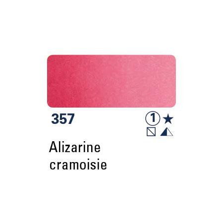 SCHMINCKE  AQUARELLE DEMI-GODET ALIZARINE CRAMOISIE S1