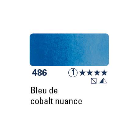SCHMINCKE DEMI-GODET TEINTE BLEU DE COBALT S1