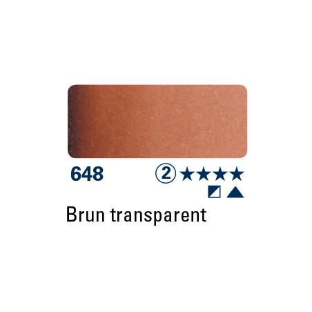 SCHMINCKE DEMI-GODET BRUN TRANSPARENT S2