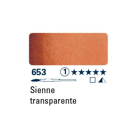 SCHMINCKE  DEMI GODET 653  TERRE DE SIENNE TRANSP S1