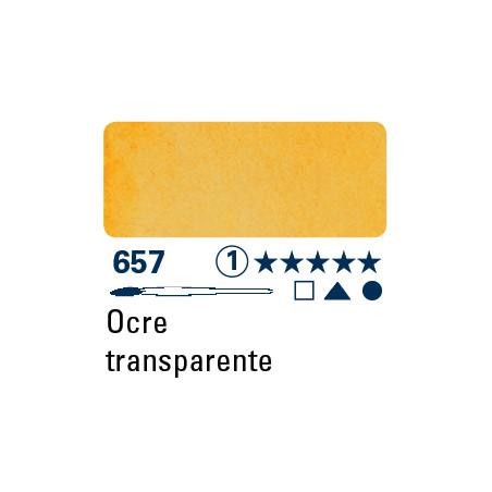 SCHMINCKE AQUARELLE HORADAM S1 657 1/2 GODET OCRE TRANSPARENT