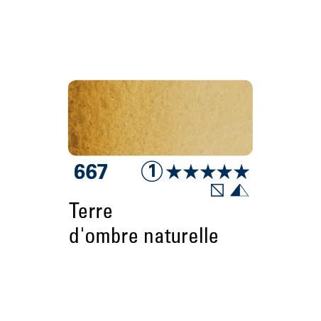 SCHMINCKE DEMI-GODET TERRE D'OMBRE NATURELLE S1