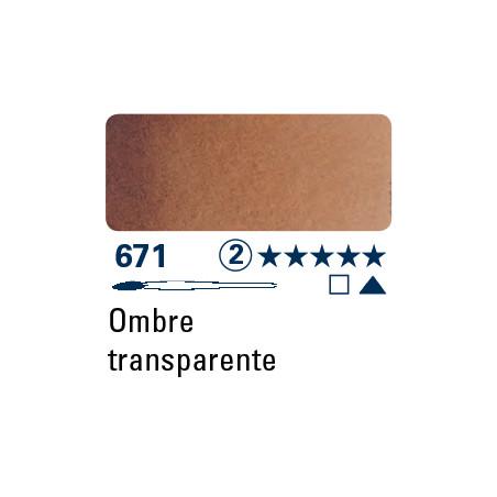 SCHMINCKE AQUARELLE HORADAM S2 671 1/2 GODET TERRE D'OMBRE TRANSPAREN