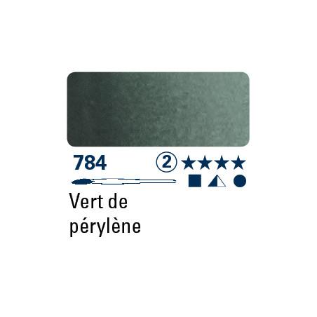 SCHMINCKE AQUARELLE HORADAM S2 784 1/2 GODET VERT DE PERYLENE