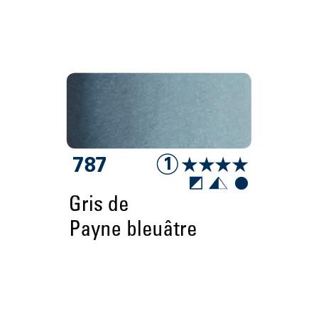 SCHMINCKE DEMI-GODET GRIS DE PAYNE BLEUÂTRE S1