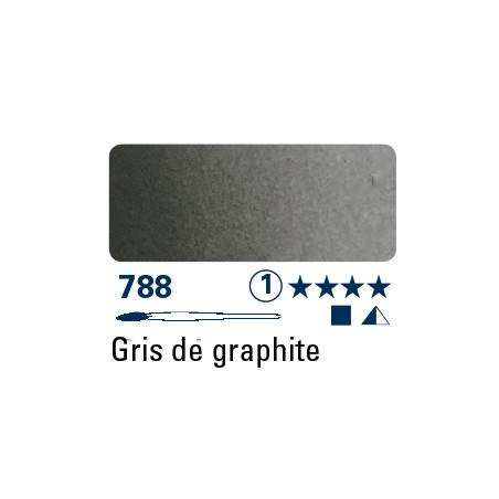 SCHMINCKE AQUARELLE HORADAM S1 788 1/2 GODET GRIS GRAPHITE