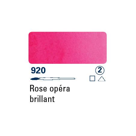 SCHMINCKE AQUARELLE HORADAM S2 920 1/2 GODET ROSE OPERA BRILLANT
